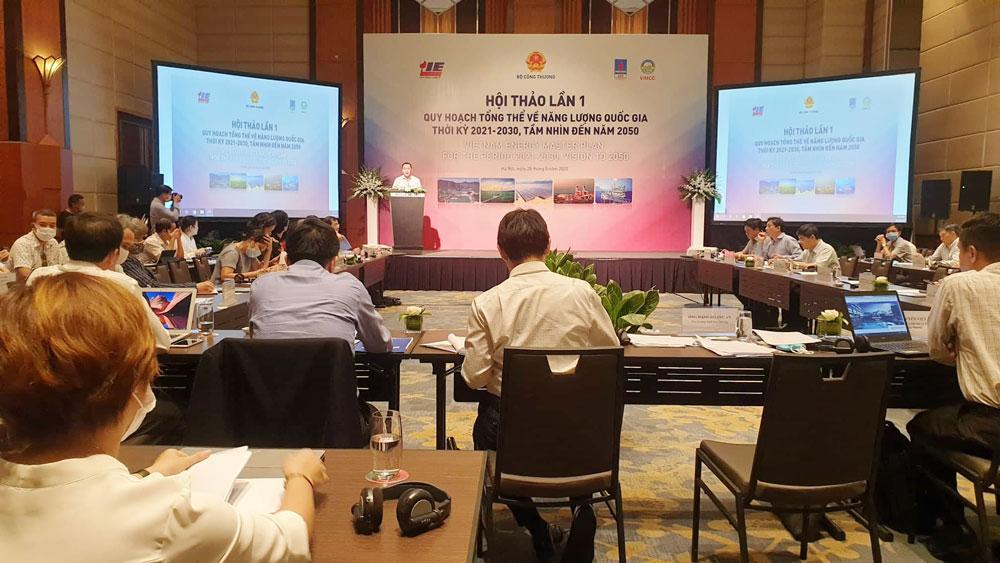 Việt Nam lập Quy hoạch tổng thể năng lượng lần đầu tiên